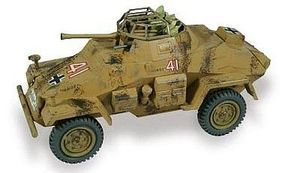 Lindberg German Armored Car SD.KFZ 222 Plastic Model Military Vehicle Kit 1/35 Scale #76006