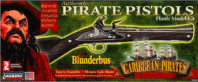 Lindberg Blunderbus Gun Pirate Plastic Model Kit #78009