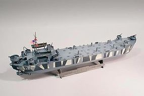Lindberg L.S.T. (Landing Ship Tank) Plastic Model Military Ship Kit 1/245 Scale #hl213-12