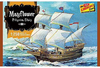 Mayflower Plastic Model Sailing Ship Kit 1 250 Scale