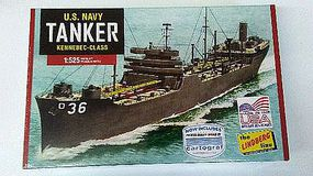 Lindberg Navy Tanker Plastic Model Military Ship Kit 1/520 Scale #hl438-12