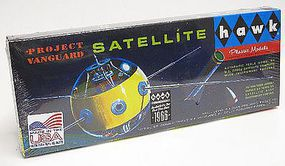 Lindberg Vanguard Satellite Space Program Plastic Model #hl603-12