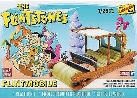 Lindberg Flintstones Car Snap Kit Snap Tite Plastic Model Vehicle Kit 1/25 Scale #hl604-12