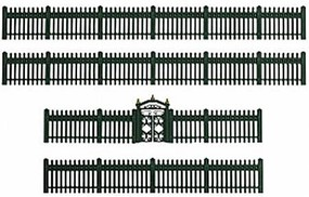Lionel NYA Green Iron Fence