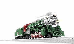 Lionel O-31 2-8-4 LC+ 2.0 Berkshire, North Pole Central