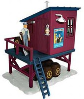 Lionel NYA TPE Barrel Shed