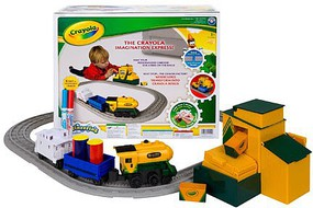 Lionel Imagineering Playset Non-Powered, Crayola