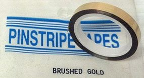 Line-O-Tape 3/16x120 Brushed Gold