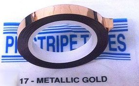 Line-O-Tape 3/16x120 Metallic Gold