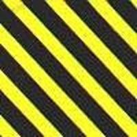 Line-O-Tape 1/8''x120'' Warning Tape Yellow/Black