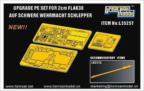 Lion-Roar 1/35 Upgrade Set for WWII German sWS w/2cm FlaK Gun