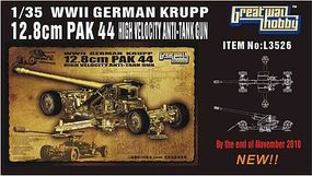 Lion-Roar 1/35 WWII German Krupp 12.8cm Pak 44 Anti-Tank Gun