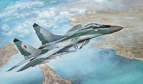 Lion-Roar 1/48 MiG29 Late Type 9-12 Fulcrum Fighter (Plastic Kit)