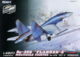 Lion-Roar 1/48 Su35S Flanker E Multi-Role Fighter (New Tool)