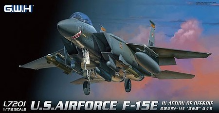 Lion-Roar 1/72 USAF F15E in Action OEF & OIF Fighter
