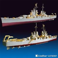 Lion-Roar 1/700 WWII USN Baltimore CA68 Heavy Cruiser Detail Set for TSM