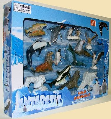 Lontic Company 1/32 Antarctic Wild Animals (12 diff/window-box)