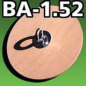 LOC Precision Bulkhead Assembly 1.52 inch (W/O TC) -- Model Rocket Building Accessory -- #ba152