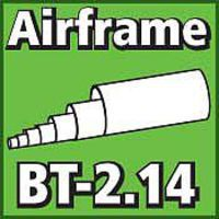 LOC Airframe Tubing 2.14 inch Model Rocket Body Tube #bt214