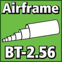 LOC Airframe Tubing 2.56 inch Model Rocket Body Tube #bt256