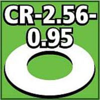 Cent. Ring 1/8 thk. 2.56od - 0.95id inch (2) Model Rocket Building Accessory #cr256095