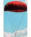 LOC Precision 36 inch Nylon Parachute 12 line -- Model Rocket Recovery Supply -- #lhpc36