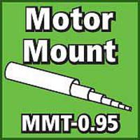 LOC Motor Mount Tube 0.95 inch Model Rocket Body Tube #mmt095