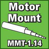 LOC Motor Mount Tube 1.14 inch Model Rocket Body Tube #mmt114