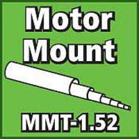 LOC Motor Mount Tube 1.52 inch Model Rocket Body Tube #mmt152