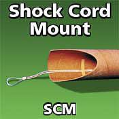 LOC Precision Shock Cord Mount -- Model Rocket Recovery Supply -- #scm2