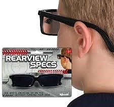 Loftus Rearview Specs Spy Glasses Novelty Toy #12011