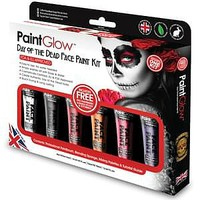 Loftus PaintGlow Day of the Dead Face Paint Kit