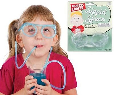 Loftus International Sippin Specs Drinking Glasses -- Novelty Toy -- #4809