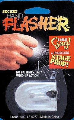 Loftus International Hand Flasher Trick -- Magic -- #645