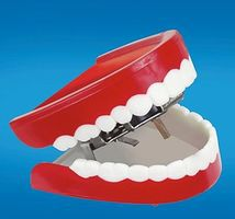 Loftus Chattering Teeth Prank Novelty Toy #707