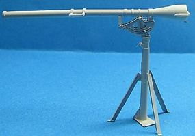 LZ WWII US Army 75mm Recoilless Rifle T21 w/T47 Pedestal Plastic Model Weapon 1/35 #35505