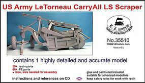 LZ 1/35 US Army LeTorneau CarryAll LS Scraper (Resin)