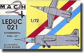 Mach2 Leduc 021 Experimental Jet Plastic Model Airplane Kit 1/72 Scale #10
