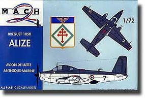 Mach2 Brequet 1050 Alize Aircraft Plastic Model Airplane Kit 1/72 Scale #17