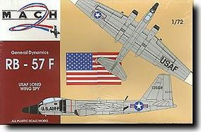 Mach2 General Dynamics RB57F USAF Long Wing Spy Aircraft Plastic Model Airplane Kit 1/72 #19