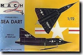 Mach2 Convair XF2Y1 Sea Dart US Navy Jet Seaplane Plastic Model Airplane Kit 1/72 Scale #1