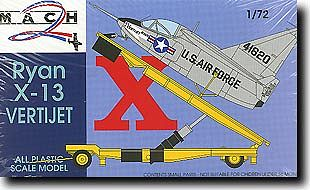 Mach 2 Models Ryan X13 Vertijet w/Transport Trailer -- Plastic Model Airplane Kit -- 1/72 Scale -- #21