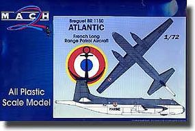 Mach2 Breguet BR1150 Atlantic French Long Range Patrol Plastic Model Airplane Kit 1/72 Scale #2