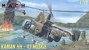 Mach2 Kamman HH43 Huskie USAF Helicopter Plastic Model Helicopter Kit 1/72 Scale #30