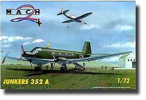 Mach2 Junkers Ju352A Aircraft Plastic Model Airplane Kit 1/72 Scale #31