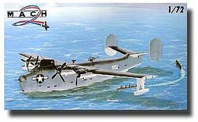 Mach2 US Navy Consolidated PB2Y Coronado WWII Flying Boat Plastic Model Airplane Kit 1/72 #35