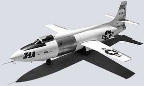 Mach2 Bell X1A High Speed Experimental Research USAF Aircraft Plastic Model Airplane Kit 1/72 #38