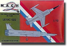 Mach2 Leduc 022 French Statoreactor Jet Plastic Model Airplane Kit 1/72 Scale #3