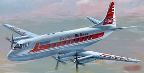 Mach2 Vickers Viscount 700 Aircraft Plastic Model Airplane Kit 1/72 Scale #46