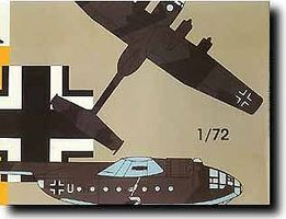 Mach2 Arado 232B Luftwaffe General Purpose Transport Aircraft Plastic Model Airplane Kit 1/72 #4
